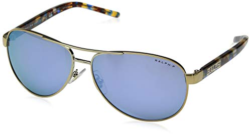 Ralph Lauren RALPH BY 0RA4004 Gafas de sol, Light Gold, 59 para Mujer