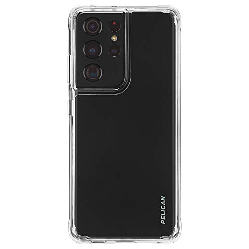 PELICAN - ADVENTURER Series - Case for Samsung Galaxy S21 Ultra 5G - 10 ft Drop Protection - 6.8 inch - Clear