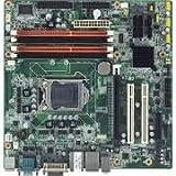 Advantech AIMB-580QG2-00A1E Motherboard, Intel i7-860 / i5-750 / i5-660 / i3-540/ Pentium G6950 LGA1156 mATX with Q57, CRT/DVI, 4 COM, Dual LAN