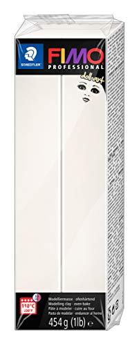 STAEDTLER 8071-03 doll art ofenhärtende Modelliermasse. Großblock 454g (1 lb). Farbe: porzellan.