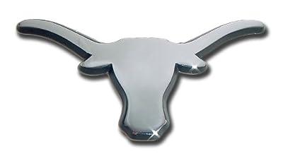 NCAA Texas Longhorns Chrome Auto Emblem Decal