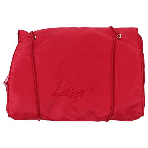 Minkissy Pieghevole Sacchetto di Trucco 21. 61X9. 04In Portatile Da Toeletta Del Sacchetto Grande Sacchetto Cosmetico per Le Donne Con Zip Sacchetto di Lavaggio per Le Vacanze Viaggi Bagno