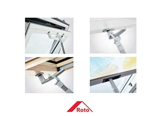 Roto Teleskop Fernbedienung ZUB TFB Q/Rx L 1170-1900 mm von Online-Fenster-Kaufen