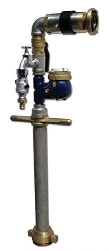 Trinkwasser Wassermess Standrohr Systemtrenner Storz/Zapfhahn DN80 Wasserzähler