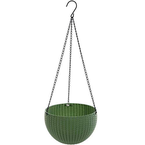 WBFN Hanging, Pot de Fleurs Suspendu Panier Indoor Macrame Plant Hanger Decorative Flower Pot Holder Home Decor aute qualité Résistant à la, Respirant, Pas Facilement déformé (Color : 1)