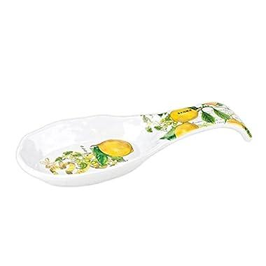 Michel Design Works Melamine Spoon Rest, Lemon Basil
