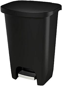 Glad 13 Gallon 50 Liter Plastic Step Trash Can