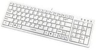I-Rocks White USB Wired Slim Keyboard (KR-6421-WH)