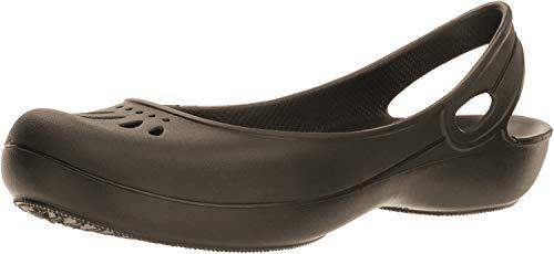 Crocs Damen Thea Women, Espresso, Gr.- 37-38 EU/Herstellergröße- W7