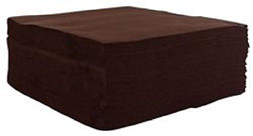 Fetez moi 40 Servietten, Schokolade, 2-lagig, Zellstoffwatte, 38 x 38 cm
