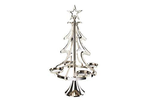 Kobolo Edler Kerzenleuchter Weihnachtsbaum aus Metall