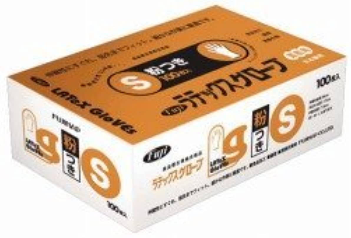 ゴミ箱を空にする十億確立フジ ラテックスグローブS 入数:100枚×20箱
