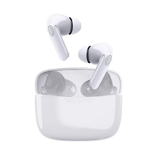 Auriculares inalámbricos, Auricular Bluetooth internos con Carcasa de Carga inalámbrica, Graves Profundos, Control táctil, IPX5 a Prueba de Agua, para Apple Airpods iPhone Android