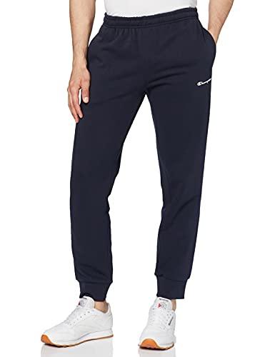 Champion Uomo - Pantaloni Classic Small Logo - Blu, XXL
