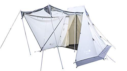 UJack(ユージャック) サーペントテント ソロキャンプ用ワンポールテント 1人用 2人用 (Surpent)