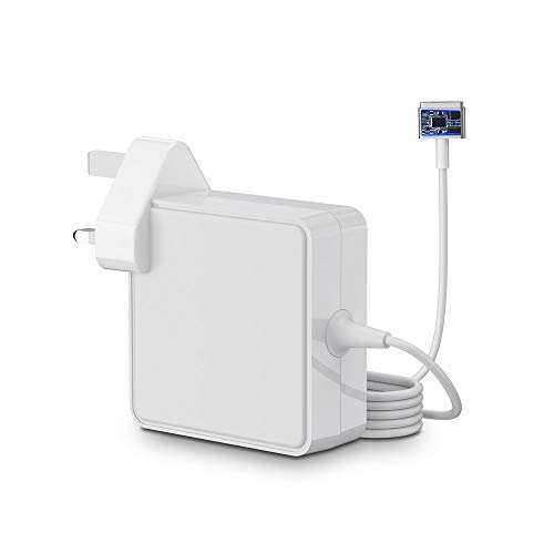 SIMPFUN Compatible With Macbook Pro Charger 85w, T-Tip Charger for MacBook 13' & 15' & 17' inch, MacBook Air 11/13-inch (Mid 2012-2015 Models)