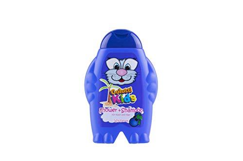 Colutti Kids Shower & Shampoo 300ml - für Haut und Haar - Wilde Beere - Kinder Duschgel und Shampoo - pH hautneutrale Pflege für Kinderhaut - Super Dufterlebnis für Kinder - 2 in 1