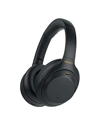 Sony WH1000XM4 - Auriculares inalámbricos Noise Cancelling (Bluetooth, optimizado para Alexa y Google Assistant, 30 h de batería, óptimo para Trabajar en casa, Micro Manos Libres), Negro, Talla Única