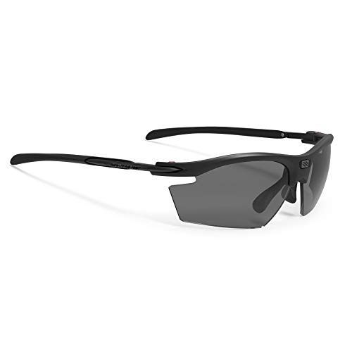 Rudy Project Rydon Brille Black Matte - rp Optics Smoke Black 2021 Fahrradbrille