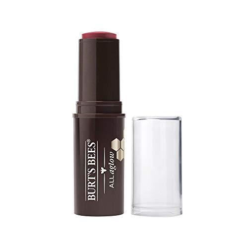 Burt's Bees All Aglow 100% Natürlicher Stick für Lippen & Wangen, Dahlia Dew - 1 Tube, 8.5 g