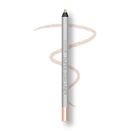 WUNDER2 SUPER-STAY LINER Makeup Eyeliner, Lidstrich wasserfest, lang haftend, Farbton Metallic Champagne