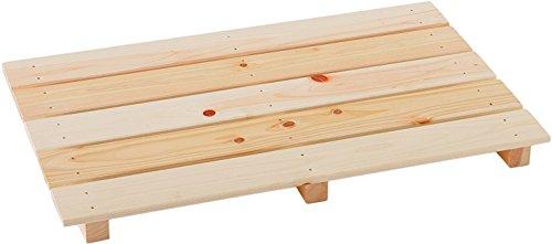 池川木材 【国産】 桧 多目的すのこ 600-5枚打 (60×38.2×3.7cm)