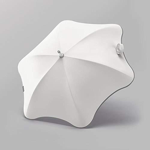 Roshow Ombrello Anti-Stamp Longi Arrotondato, Doppio Doppio ombrellone Semplice Ombrello Nero Ombrello Nero Ombrello ombrellone Ombrello ombrellone-Mezzaluna