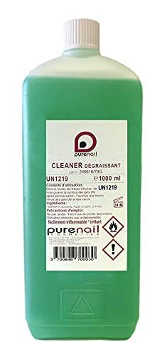 Cleaner - Desengrasante Purenal, 1 litro, para gel UV y uñas postizas.