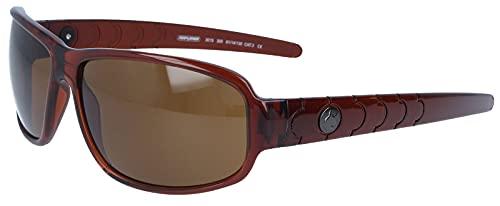 Kunststoff-Sonnenbrille Performer Lifestyle in Braun