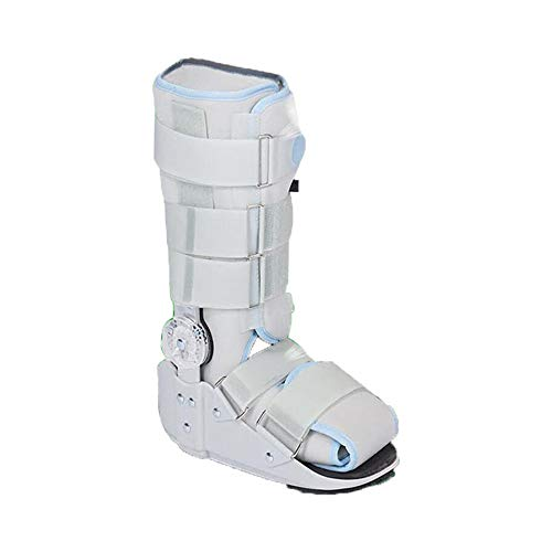 Wanderschuh, Bruch der Achillessehnen-Rehabilitationsschuhe Knöchelfußfraktur, für Fuß- und Sprunggelenkfraktur, Beinfrakturstiefel,L