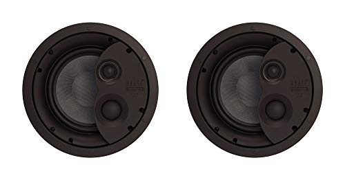 Lowest Prices! 2 x Phase Tech CI7.3X 8 3Way Ceiling Speaker in Wall Tweeter Home Audio