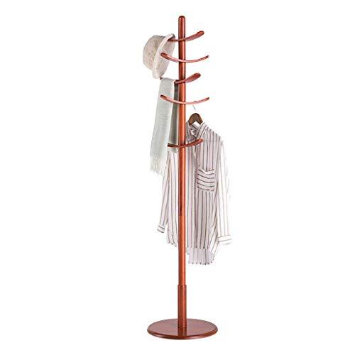 Kapstokken Staande hoed en jas Rack Kleren Hoed Tribune van de Boom Hanger Planken Slaapkamer Creative Thuis Single Pole (Kleur: A) LQH (Color : A)