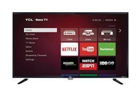 TCL 32S3800 32' 720p 60Hz Roku Smart LED HDTV