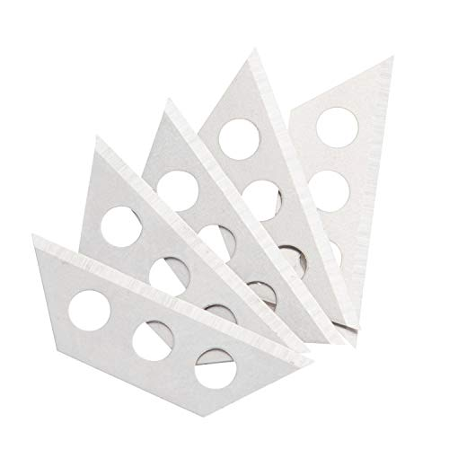 """Sheffield 12851 Mini Utility Blades, 5 Piece 