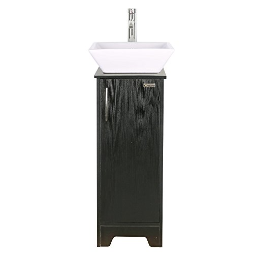 13 inch Modern Bathroom Vanity Units Cabinet and 16 inch Sink Stand -