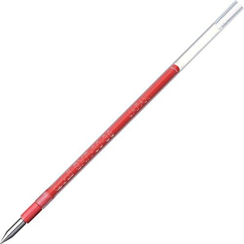 三菱鉛筆 ボールペン替芯 ジェットストリーム 0.38 多色多機能 赤 10本 SXR8038.15