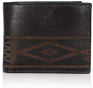 Addon Adele – Wallet for Mens, Leather Branded and Stylish   Engering Wallet for Men, Black Color