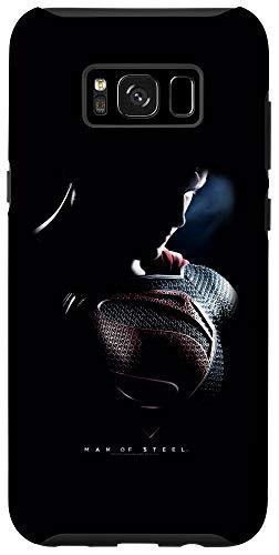 Galaxy S8+ Man of Steel Superman Movie Poster Case