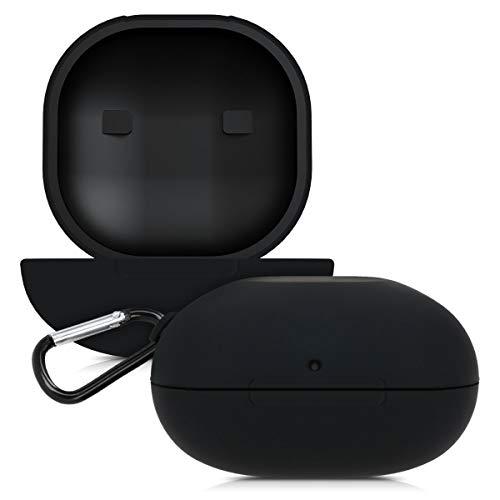 kwmobile Schutzhülle kompatibel mit Beats Powerbeats Pro - Hülle Kopfhörer - Silikon Case Cover Schwarz