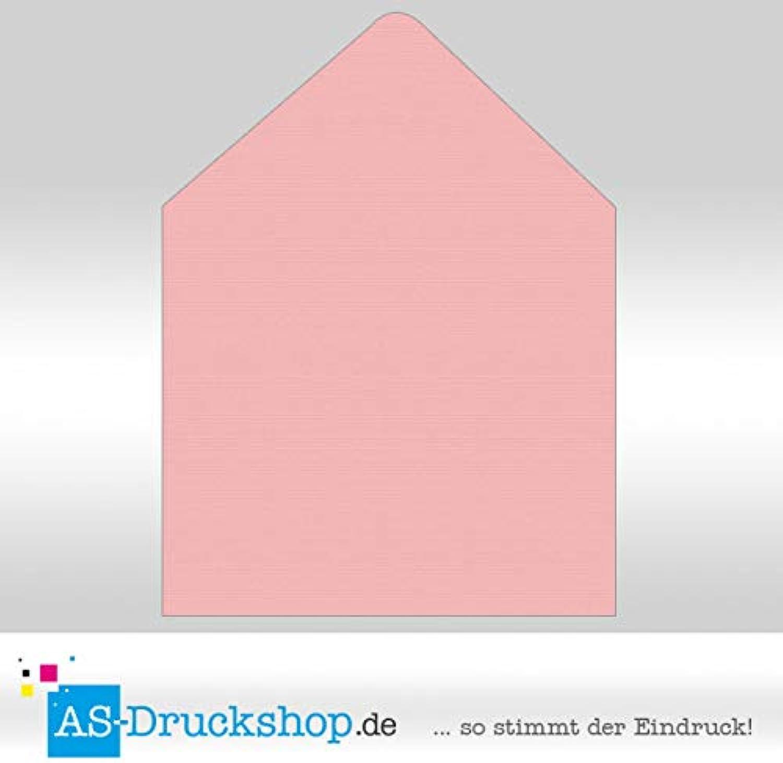 Briefumschlag KuGrün - Flamingo - mit Seidenfutter Quadrat - 164 x 164 mm   50 Stück B0794TVK2F | Einfach zu bedienen