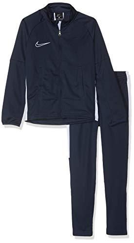 NIKE B NK Dry Acdmy TRK Suit K2 Chándal, Niños, Obsidian/White/White, S