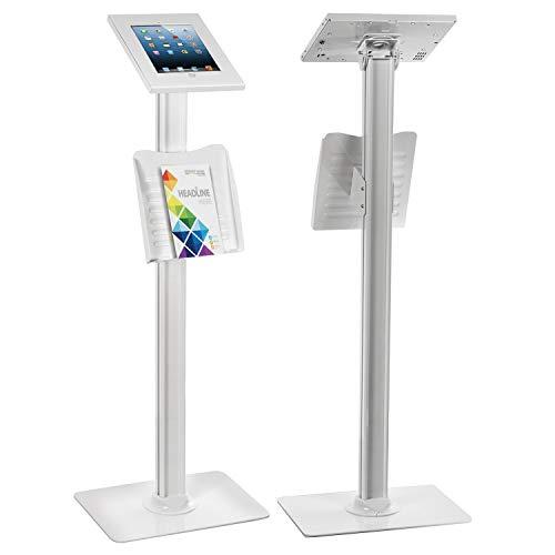 Maclean MC de 724Universal Tablet Soporte de Mesa Soporte para prospectos Tablet Station, Soporte de Suelo con Bloqueo para iPad 2, iPad 3, iPad 4, iPad Air; antirrobo