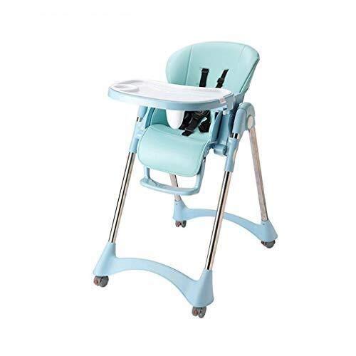 YDHYYDQCFJL Baby Hoge Stoel - Baby Eetstoel Baby Kinderstoel Verstelbare Voeding Eetstoel Booster Opvouwbaar