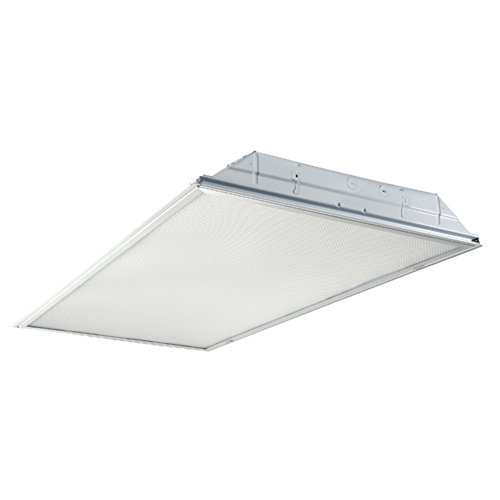 GR Series LED Recessed Troffer, 2 x 4, 3800 Lumen, 3500K