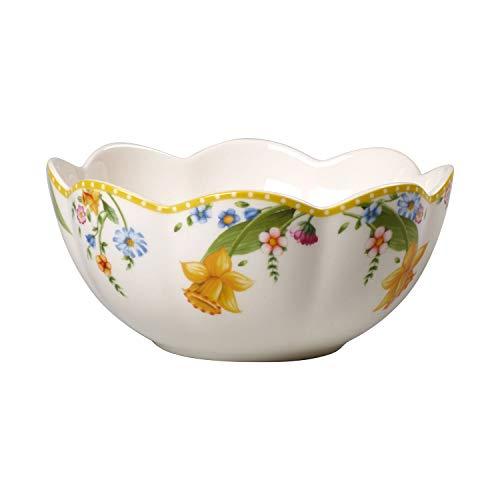 Villeroy & Boch Spring Awakening Grand bol, Porcelaine, Jaune/Vert/Rouge