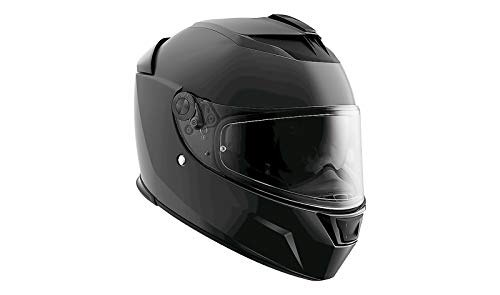 BMW Casco de moto Street X, color negro mate, tamaño de casco BMW 61/62