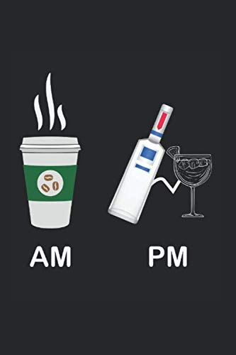 Notizbuch Morgen und Abend: Kaffee I Tagebuch I liniert I 100 Seiten