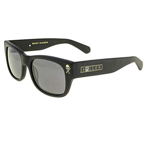 Sullen x Black Flys Unisex Next Chapter Sunglasses Matte Black
