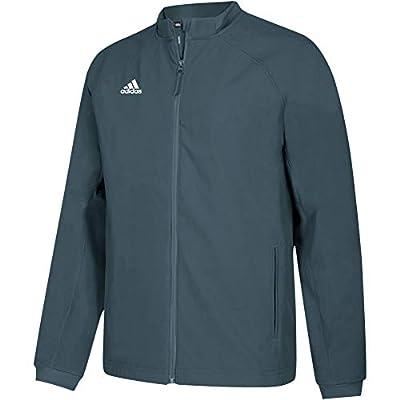 adidas Mens Climawarm Fielders Choice Full-Zip Warm Jacket Royal/Grey 2XL