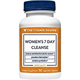 Women's 7 Day Cleanse Detox Formula with Probiotics Electrolytes (52 Vegetable Capsules)